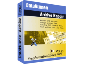 DataNumen Archive Repair Crack